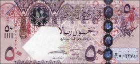 Qatar P.31 50 Riyals (2008) (1)