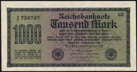 R.075b: 1000 Mark 1922 (1)
