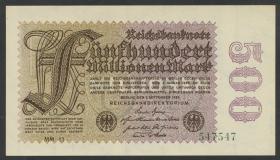 R.109d: 500 Mio. Mark 1923 (1)