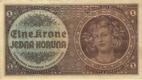 R.558b: Böhmen & Mähren 1 Krone (1940) Specimen (3)