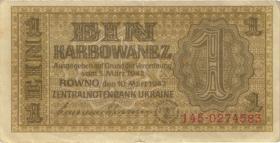 R.591: Besetzung Ukraine 1 Karbowanez 1942 (2)