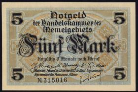 R.849b: Memelgebiet 5 Mark 1922 (1)