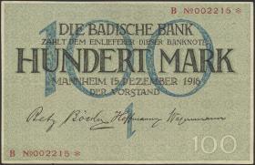 R-BAD 06: 100 Mark 1918 (3+)