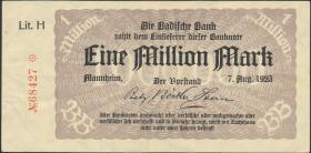 R-BAD 11a: 1 Mio. Mark 1923 (3)