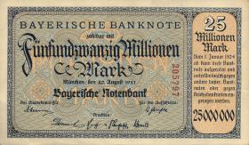 R-BAY 14: 25 Mio. Mark 1923 (1/1-)