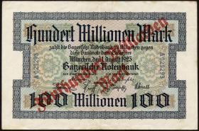 R-BAY 21: 500 Mrd. Mark Überdruck auf 100 Mill. 1923 (3)