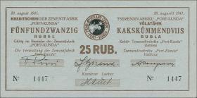 Estland / Estonia ES17a: 25 Rubel 1941 (2)