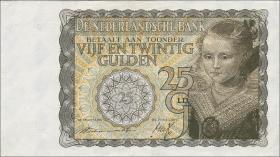 Niederlande / Netherlands P.057 25 Gulden 1940 (2)