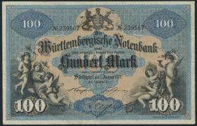 R-WTB 10a: 100  Mark 1911 (3+)