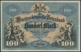 R-WTB 10b: 100 Mark 1911 (3+)
