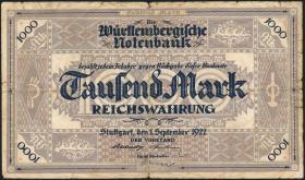 R-WTB 12a: 1000 Mark 1922 (5)