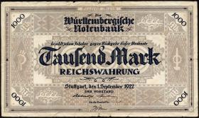 R-WTB 12a: 1000 Mark 1922 (4)