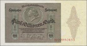 R.088 5 Millionen Mark 1923 Medaillon (1)