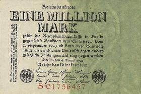 R.100: 1 Million Mark 1923 (1)