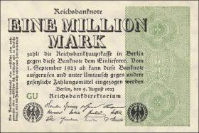 R.101a: 1 Mio. Mark 1923 (1)