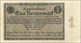 R.154a: 1 Rentenmark 1923 (1/1-)