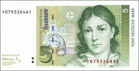 R.296b 5 DM 1991 Y Ersatznote (1)