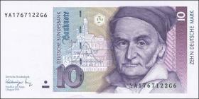 R.297b 10 DM 1991 YA Ersatznote (1)