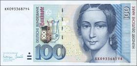 R.310b 100 DM 1996 Serie KK (1)