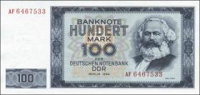 R.358a 100 Mark 1964 Karl Marx (1)