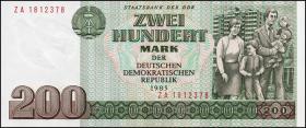 R.364b 200 Mark 1985 ZA Ersatznote (1)