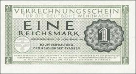 R.511: Wehrmachts-Verrechnungsschein 1 Reichsmark 1944 (1)