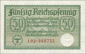 R.550a:  50 Rpfg. (1939) Reichskreditkasse (1)