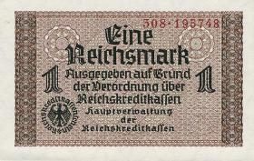 R.551a: 1 Reichsmark (1939) Reichskreditkasse (1)