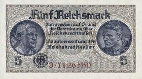 R.553a:  5 Reichsmark (1939) Reichskreditkasse (1)