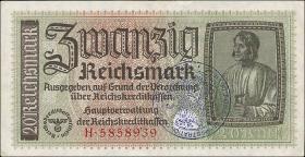 R.554c: 20 Reichsmark (1939) Reichskreditkasse (3+)