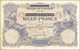 R.668: Besetzung Tunesien 1000 Francs  (1942/43) (3)