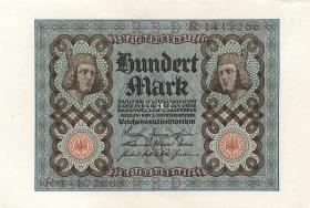 R.067b: 100 Mark 1920 Bamberger Reiter (1)