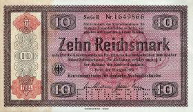 R.709E1: Konversionskasse 10 Reichsmark 1934 (1)