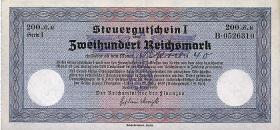 R.717: Steuergutschein 200 Reichsmark 1939 (2)