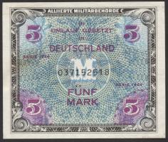 R.202a: 5 Mark 1944 US-Druck 9-stellig (2)