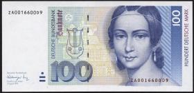 R.300b 100 DM 1991 ZA Ersatznote (1)