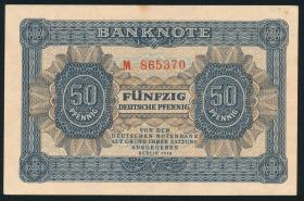 R.339a: 50 Pfennig 1948 6-stellig Serie M (1-)