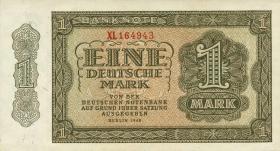 R.340c: 1 DM 1948 6-stellig Ersatznote Serie XL (1)
