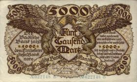 R-BAD 08a: 5000 Mark 1922 (2/1)