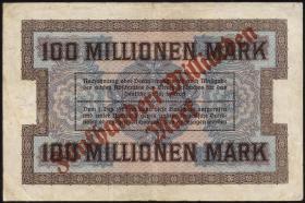R-BAY 21: 500 Mrd. Mark auf 100 Mill. 1923 (3-)