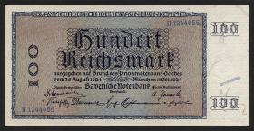 R-BAY 24: 100 Reichsmark 1924 (1)