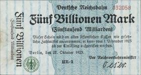 RVM-16 Reichsbahn Berlin 5 Billionen Mark 1923 (1)