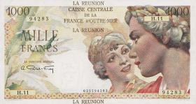 Reunion P.47a 1000 Francs (1947) (2)