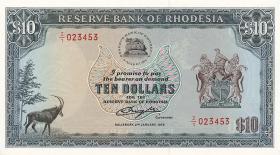 Rhodesien / Rhodesia P.41a 10 Dollars 1975 (1)