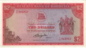 Rhodesien / Rhodesia P.35c 2 Dollars 5.81977 (1/1-)