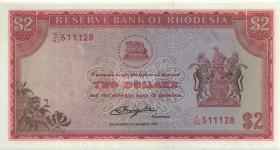 Rhodesien / Rhodesia P.35c 2 Dollars 5.81977 (1)
