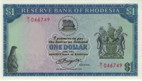 Rhodesien / Rhodesia P.38 1 Dollar 1979 (1)