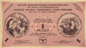 Lettland / Latvia LE 76c: 1 Punkt 30.4.1945 (1)