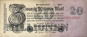 R.096d: 20 Mio. Mark 1923 T (3)