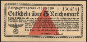 R.520b: Kriegsgefangenengeld 5 Reichsmark (1939) (1/1-)